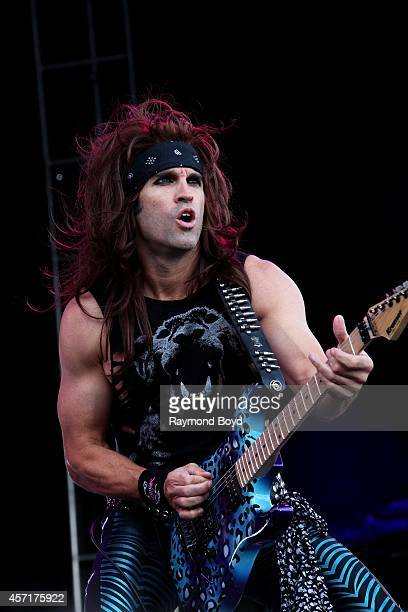 Satchel from Steel Panther performs during the 'Louder Than Life' Music Festival in Champions Park on October 04 2014 in Louisville Kentucky