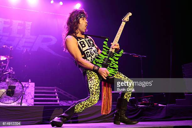 Satchel of Steel Panther performs at SSE Arena on October 15 2016 in London England