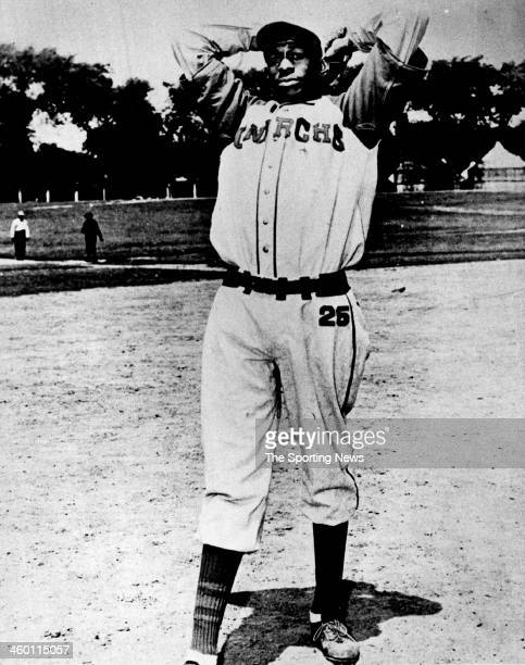 Satchel Paige of the Kansas City Monarchs circa 1940 .