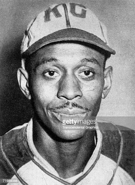 Satchel Paige, pitcher for the Kansas City Monarchs of the Negro Leagues, poses for a portrait in 1955.