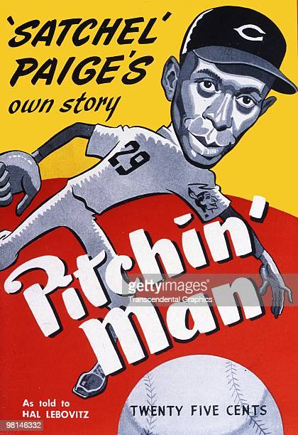 Satchel Paige's book Pitchin' Man, featured an artist's rendering of the mound ace.