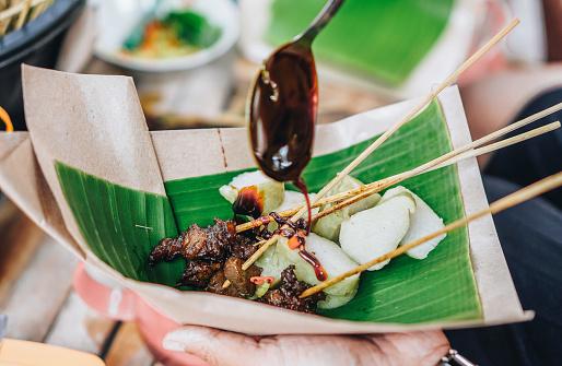 Sate Ayam, Chicken Satay - gettyimageskorea