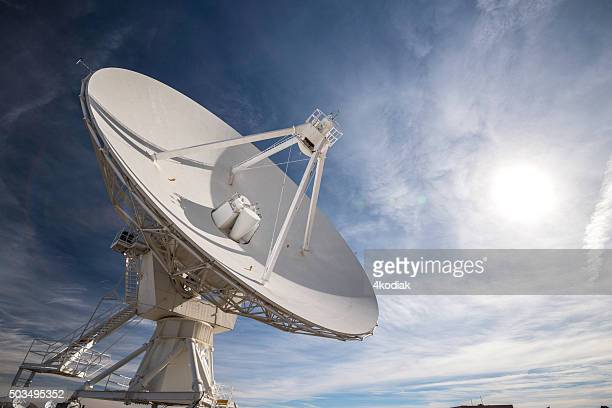 satellite array - vla - telecommunications equipment stock pictures, royalty-free photos & images