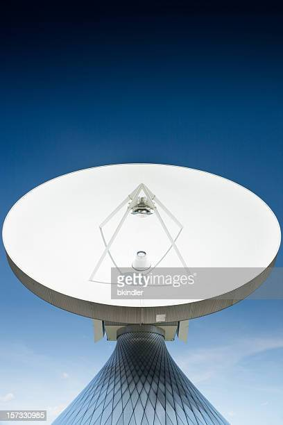 satellite dish - satellite dish stock pictures, royalty-free photos & images