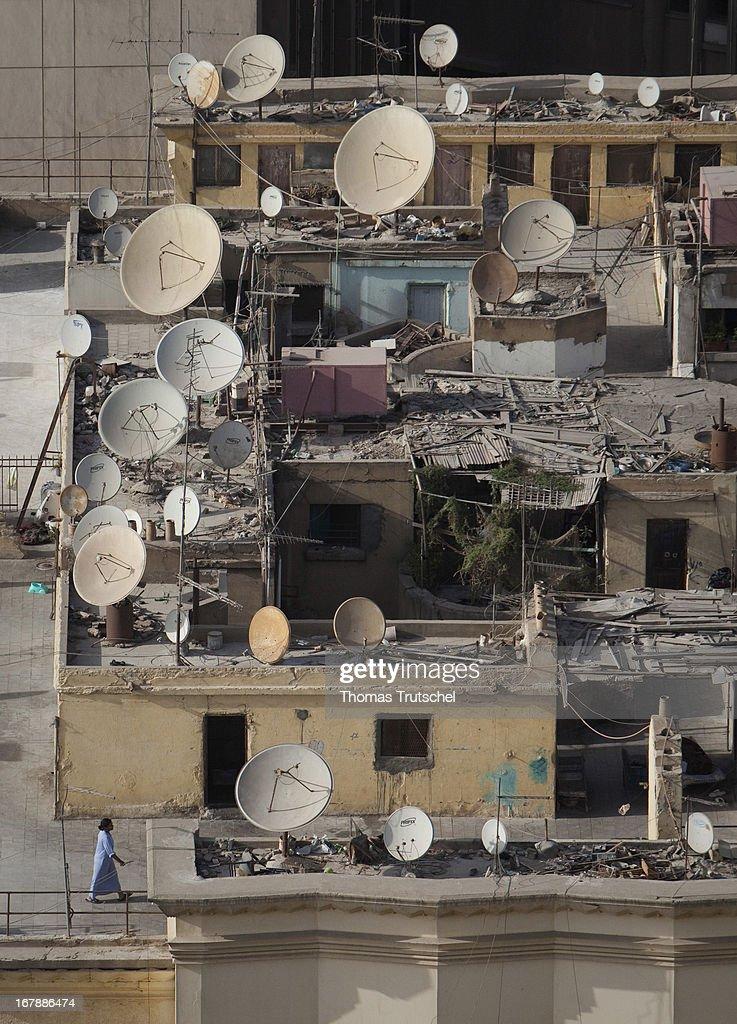 Satellite Dishes : ニュース写真