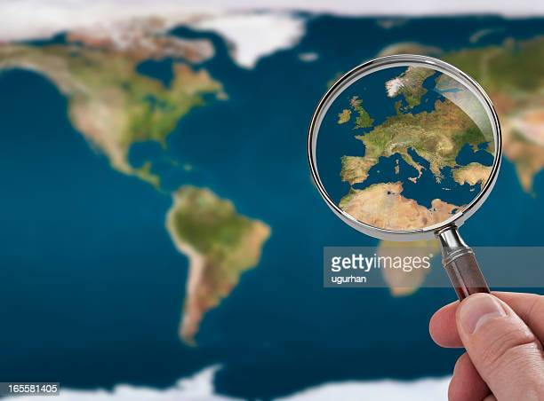 satellite map - international politics stock pictures, royalty-free photos & images