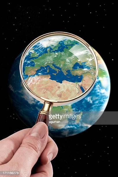 Satellite mappa
