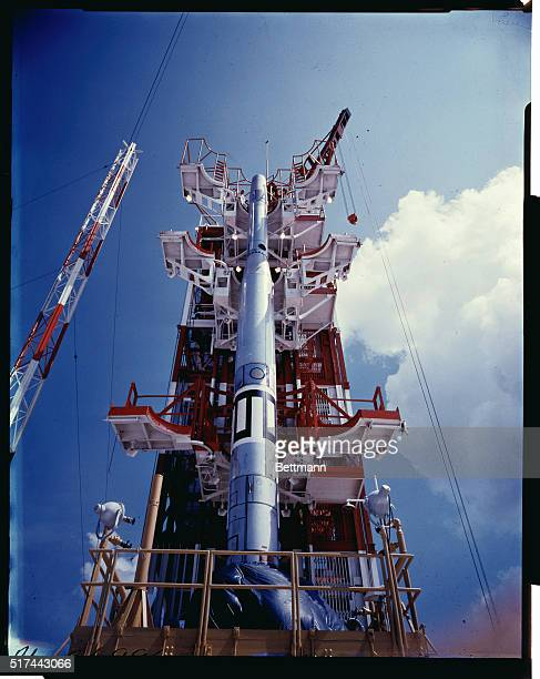 Satellite test rocket to be fired soon This Vanguard rocket is known as TV2