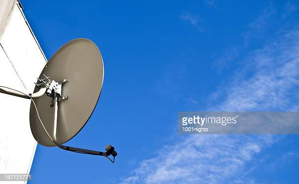 satellite tv receiver - solar energy dish stock pictures, royalty-free photos & images