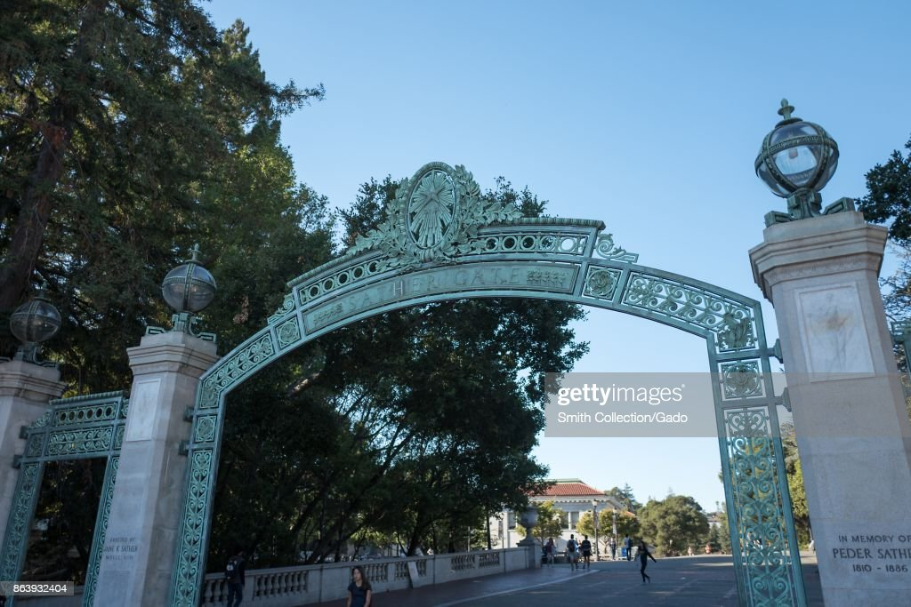 Sather Gate : News Photo