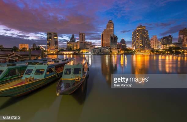 Sathorn Pier , Bangkok , Thailand