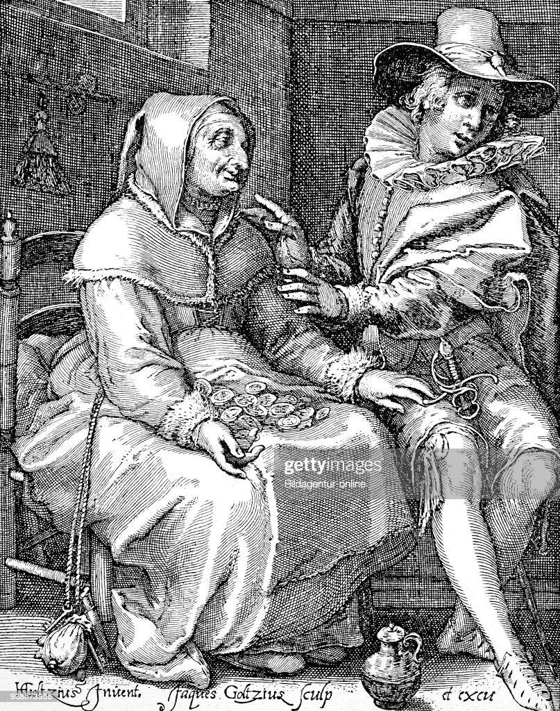 Satire On An Old Woman In Love 16th Century Satire Auf Eine