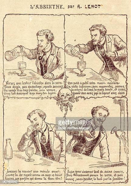 satirical cartoon by a lemot showing the correct way to prepare an