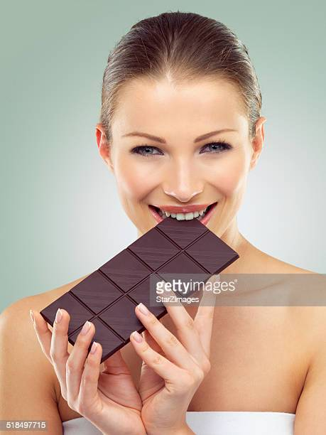 Satisfy your cravings with dark chocolate