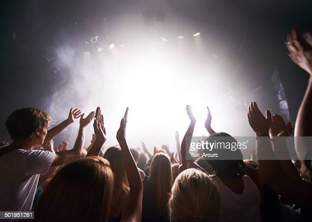 satisfying their adoring fans - club dj stock pictures, royalty-free photos & images