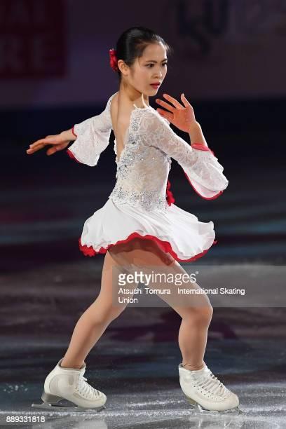 Satoko Miyahara of Japan performs her routine in the Gala exhibition during the ISU Junior Senior Grand Prix of Figure Skating Final at Nippon Gaishi...