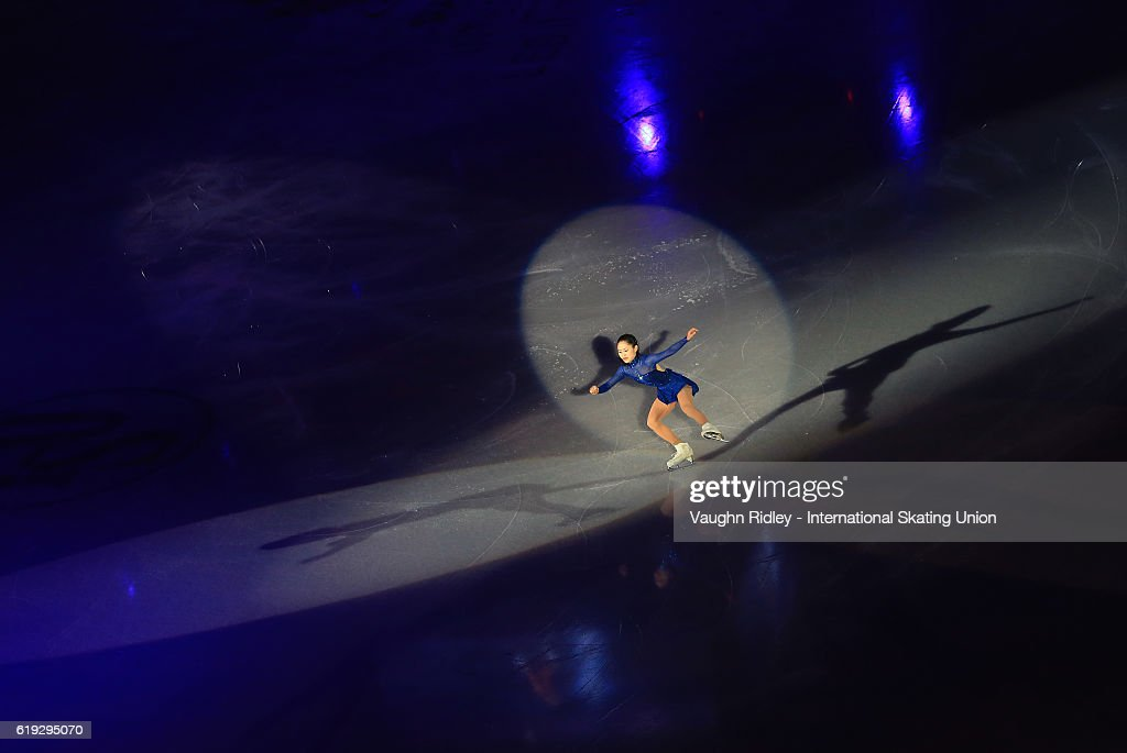 Satoko Miyahara of Japan performs in the Exhibition Gala during the ISU Grand Prix of Figure Skating Skate Canada International at Hershey Centre on October 30, 2016 in Mississauga, Canada.