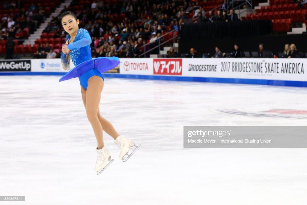 ISU Grand Prix of Figure Skating - Lake Placid - Day 3 : ニュース写真