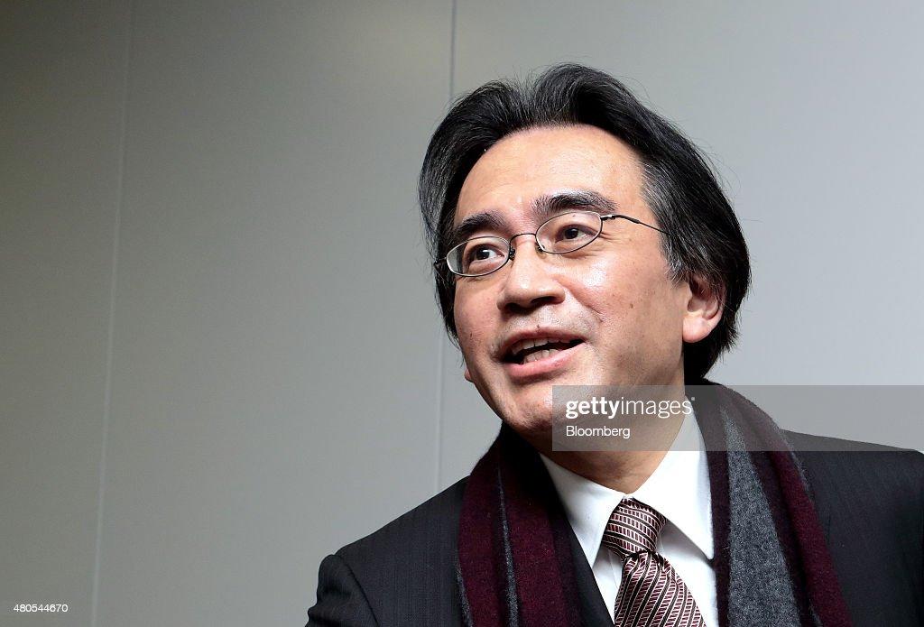 Nintendo President Satoru Iwata Dies From Bile Duct Cancer : News Photo