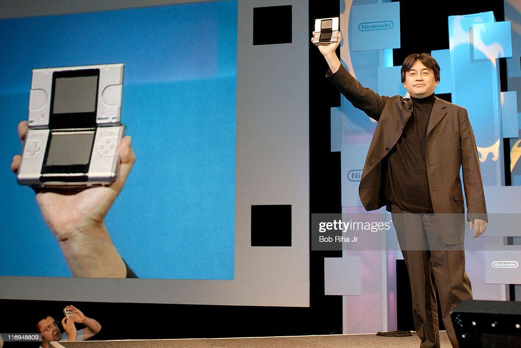 Launch of Nintendo DS at the 2004 Electronic Entertainment Expo