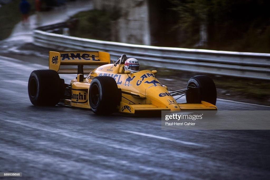 Satoru Nakajima, Grand Prix Of Belgium : ニュース写真