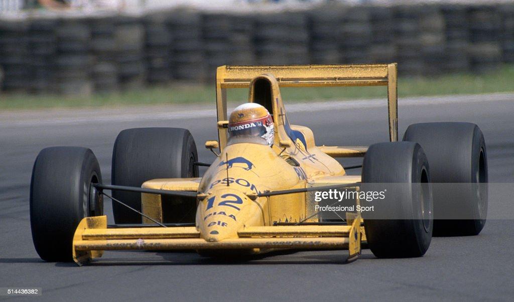 Satoru Nakajima - British Grand Prix : News Photo