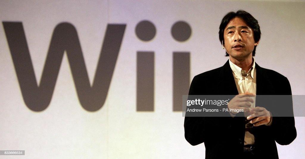 New Nintendo games console : News Photo