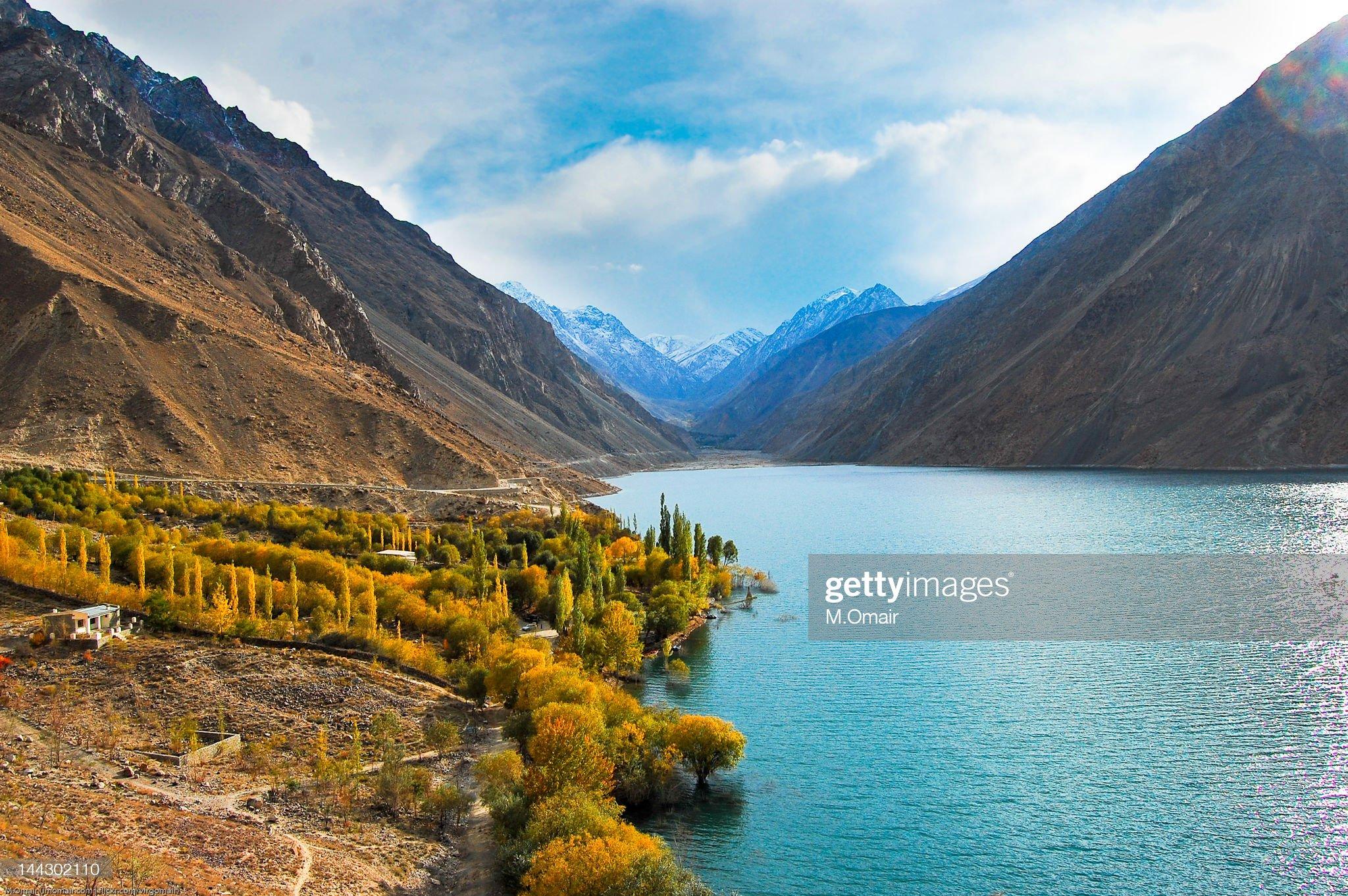 Satpara Lake Skardu, Gilgit-Baltistan.