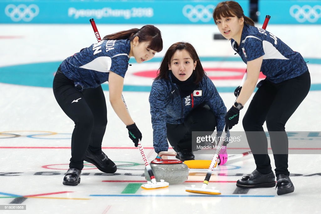 Curling - Winter Olympics Day 5