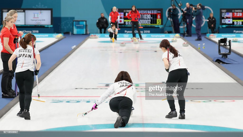 Curling - Winter Olympics Day 11 : News Photo