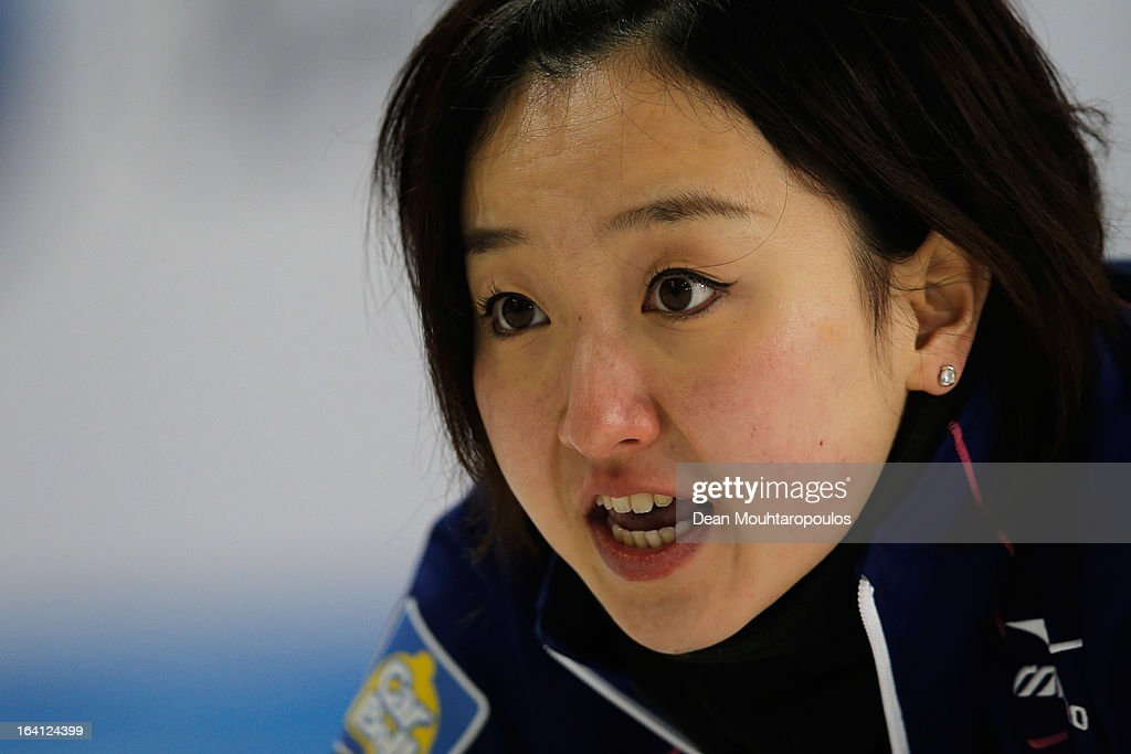World Women's Curling Championship - Day Five : ニュース写真