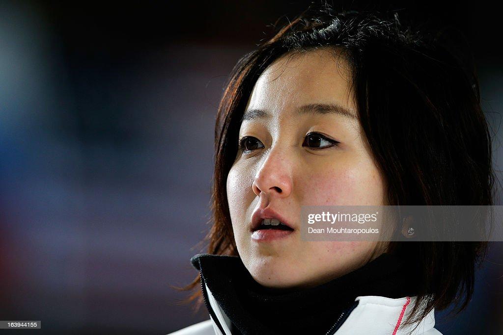 World Women's Curling Championship - Day Three : ニュース写真