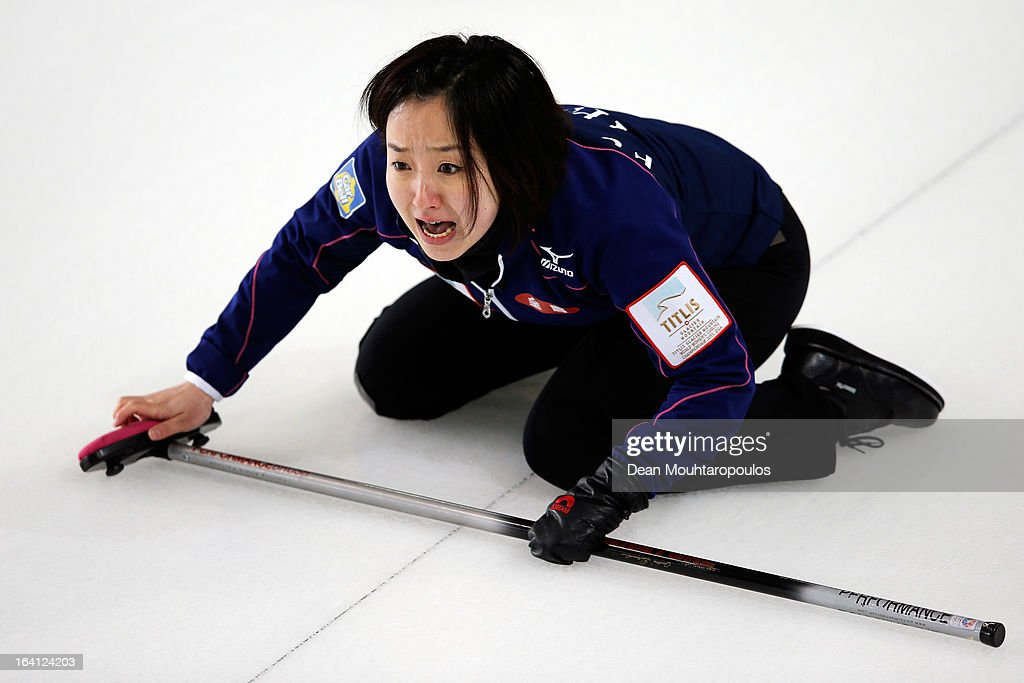 World Women's Curling Championship - Day Five