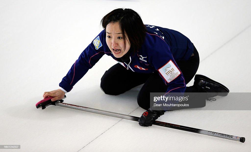 World Women's Curling Championship - Day Five : ニュース写真