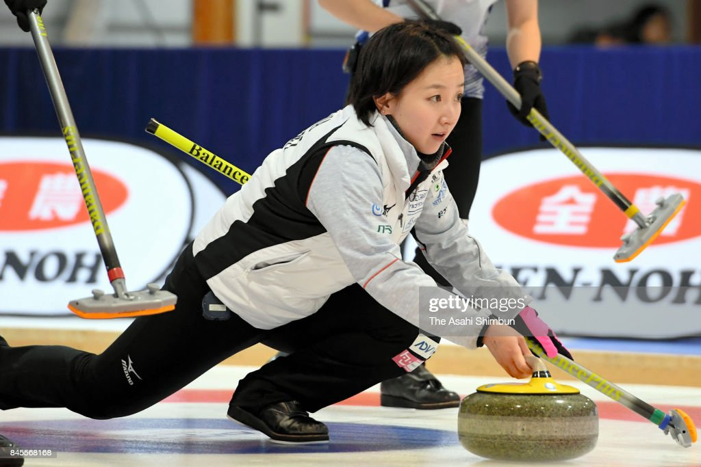 Japan Women's Curling Olympic Qualifier - Game 3