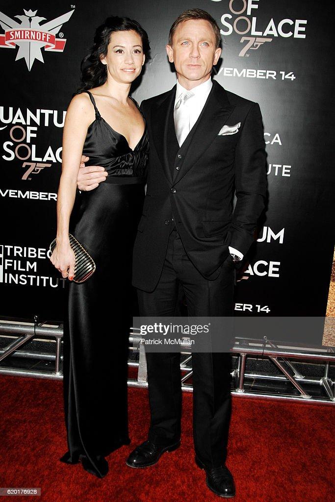 Satsuki Mitchell And Daniel Craig Attend Tribeca Film Institute News Photo Getty Images