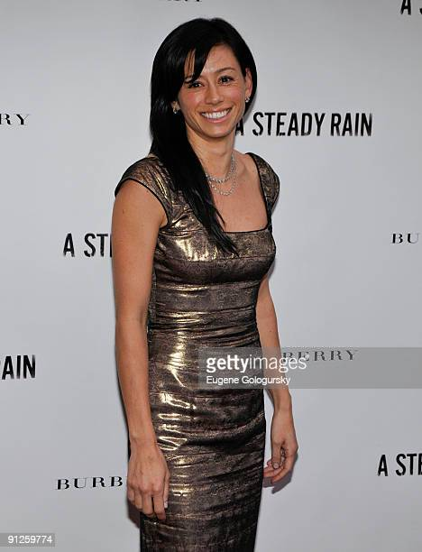 Satsuki Mitchell attends A Steady Rain Broadway opening night at the Gerald Schoenfeld Theatre on September 29 2009 in New York City