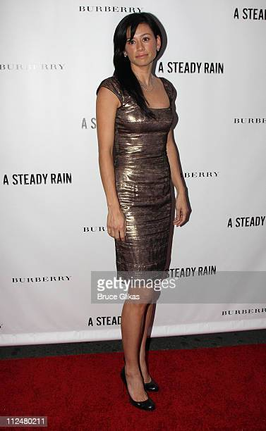 Satsuki Mitchell attends the opening night of A Steady Rain on Broadway at the Gerald Schoenfeld Theatre on September 29 2009 in New York City