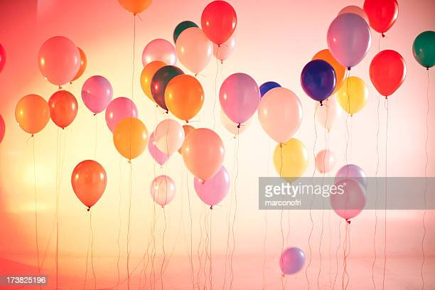 saturated ballons - opening ceremony stock pictures, royalty-free photos & images