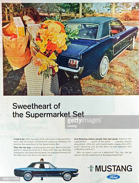 Saturday Evening Post Magazine Ford Ad