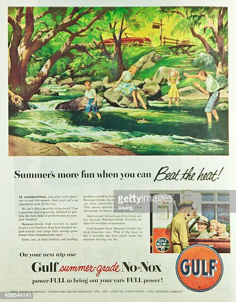 saturday evening post magazine ford ad - picture magazine stock photos and pictures