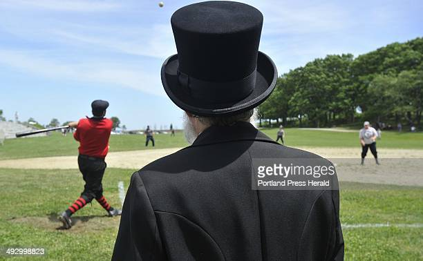 Saturday, June 30, 2012 -- The Maine Historical Society hosted a 19th century baseball doubleheader at Fort Williams park in Cape Elizabeth. The...