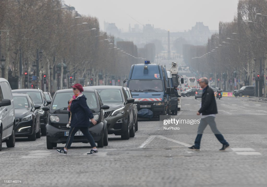 FRA: Act 19 Of The Yellow Vests In France