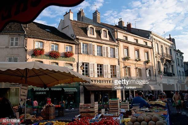 Saturday Market in Beaune