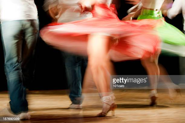 saturday night fever - salsa dancing stock photos and pictures