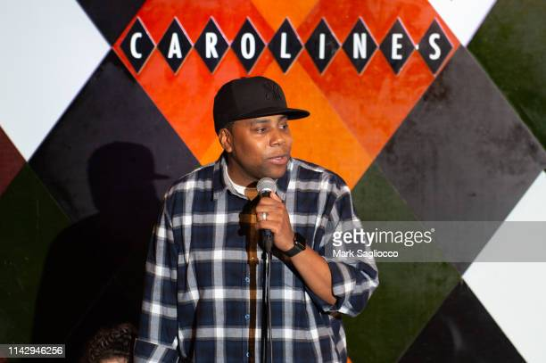 Saturday Night Live Comedian Kenan Thompson is sighted at Caroline's Comedy Club on April 14 2019 in New York City