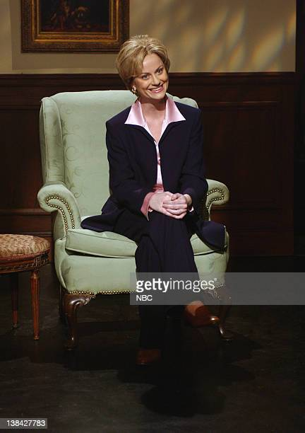 Saturday Night Live Episode 8 Air Date Pictured Amy Poehler as Hillary Clinton during the Hardball skit on December 13 2003
