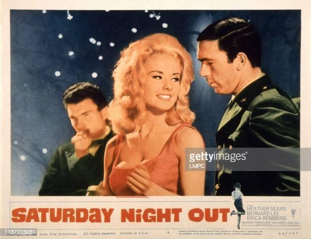 Saturday Night Out US lobbycard Barbara Roscoe 1964