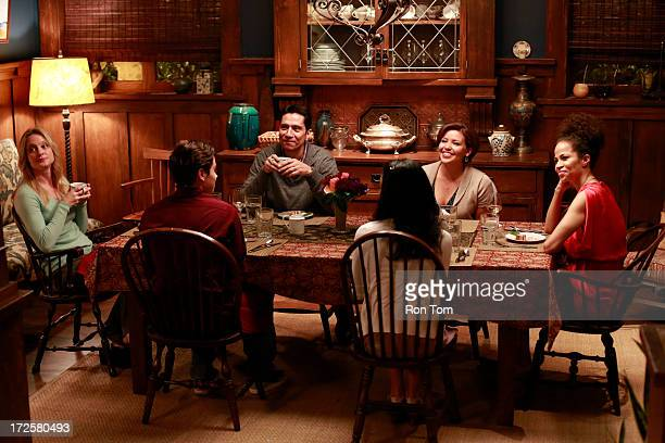 THE FOSTERS Saturday Stef and Lena invite Lexi Rivera's very protective Catholic parents to dinner in the episode titled Saturday airing Monday July...