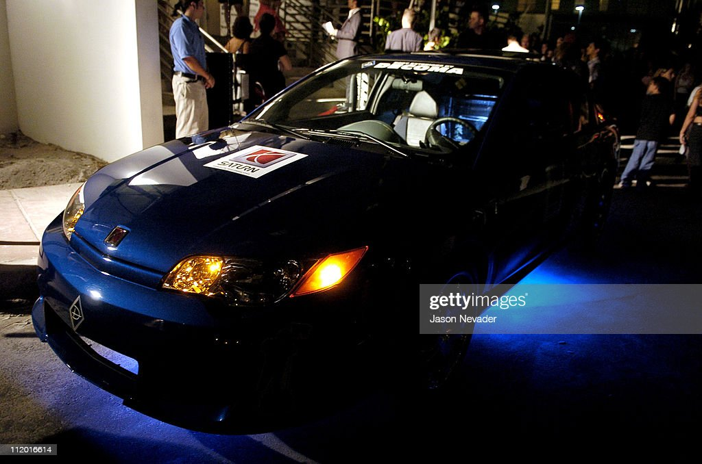 Saturn car during Blender 2004 MTV VMA Pre-Party Hosted by Pharrell